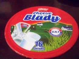 Étiquette De Boite De Fromage -BLADY -16 Portions- - Fromage