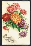 BONNE ANNEE - Fleurs - Circulé - Circulated - Gelaufen - 1940. - Nouvel An