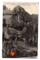06664-LE-19-Environs De BORT-La Roche Mandrin Qui Servait De Rendez-vous Au Célèbre Bandit - France
