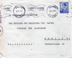 Yougoslavie Lettre Censurée Pour L'Allemagne 1941 - 1931-1941 Kingdom Of Yugoslavia