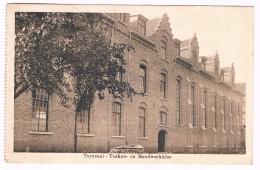 Sint Jozefsgesticht - Normaalschool, Thorhout, Turnzaal - Teeken- En Handwerkklas, Circulée - 2 Scans - Torhout