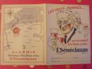 Protège-cahier Vins Sénéclauze St Eugène Oran Algérie - Protège-cahiers