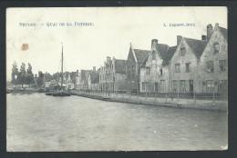 CPA - BRUGGE - BRUGES - Quai De La Poterie - L.Lagaert  // - Brugge