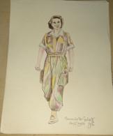 Dessin Au Crayon-Illustrateur -Geneviève De Galard Terraube, Née à Paris Le 13 Avril 1925, Est Une Infirmière Militai(4) - Drawings