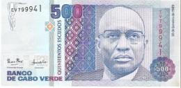 Cape Verde - Pick 59 - 500 Escudos 1989 - Unc - Cap Vert