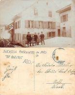 Kt. Basel - Buckten PHOTOKARTE ANIMIERT JAHRE 1910 CA TOP RARITAT (S-L 220) - BL Basle-Country