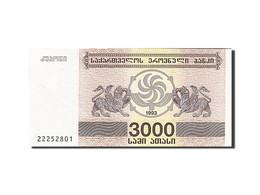 Géorgie, 3000 (Laris), 1993, KM:45, 1993, NEUF - Géorgie