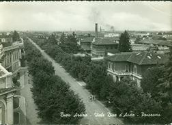 Busto Arsizio. Viale Duca D-Aosta. Panorama. 330 - Varese