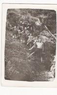 GROUPE C.F.P MOISSONS NOUVELLES 1942 ENFANTS AU GARDE A VOUS - War, Military