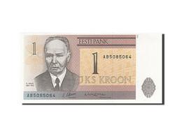 Estonia, 1 Kroon, 1991-1992, KM:69a, 1992, NEUF - Estonie