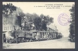 PUY DE DOME 63 Train Chemin De Fer Du Puy De Dôme à La Baraque - Frankrijk