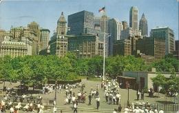 UNITED STATES AMERICA  NEW YORK  MANHATTAN  Battery Park  Canada Stamps - Manhattan