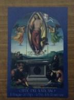 2005 Vaticano Foglietto Nuovo Sheet NEW MNH** Il Perugino La Pala Della Resurrezione - Blocchi E Foglietti