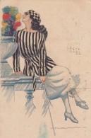 3-4631- NANNI  Illustratore Illustrateur Illustrator Art Nuveau - Decò - Liberty - Rara - F.p. Viaggiata In Busta - Nanni