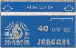 *SENEGAL* -  Scheda Usata - Senegal