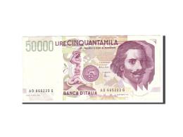 Italie, 50,000 Lire, 1992, KM:116c, 1992-05-27, TB - 50000 Lire