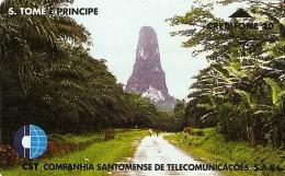 *SAN TOME´ E PRINCIPE* -  Scheda Usata