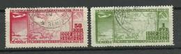 RUSSLAND RUSSIA 1932 Michel 410 - 411 Int. Polarjahr O - Usados