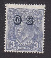 Australia, Scott #O9, Mint Never Hinged, George V Overprinted, Issued 1932