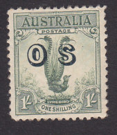Australia, Scott #O14, Mint Hinged, Lyrebird Overprinted, Issued 1932