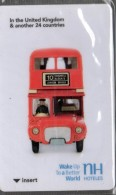 HC - NH HOTELS - RED BUS - HOTEL KEY CARD - Cartes D'hotel