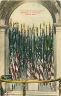 BOSTON - Battle Flags Of Massachussetts Regiments, At Statehouse - Boston