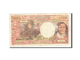 Tahiti, 1000 Francs, 1985, KM:27d, Undated, TB - Banknotes