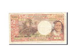 Tahiti, 1000 Francs, 1985, KM:27d, Undated, TB - Other - Oceania