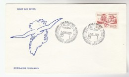 1978 GREENLAND  FDC Stamps RASMUSSEN Cover - FDC