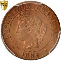 Monnaie, France, Cérès, Centime, 1884, Paris, PCGS, MS66RD, FDC, Bronze - France