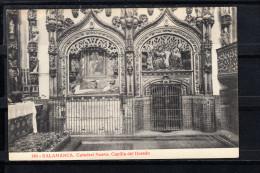 SALAMANCA.CXATEDRAL NUEVA.CAPILLA DEL DORADO  NO CIRCULADA. 1910 - Salamanca