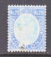 CEYLON  REVENUE  9  (o) - Ceylon (...-1947)