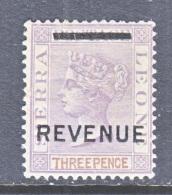 SIERRA  LEONE   REVENUE  2    * - Sierra Leone (...-1960)
