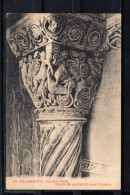 SALAMANCA.CATEDRAL VIEJA.DETALLE DE UN CAPITEL EN EL CLAUSTRO   NO CIRCULADA. 1910 - Salamanca