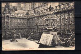 SALAMANCA.CATEDRAL NUEVA. EL CORO,  NO CIRCULADA. 1910 - Salamanca