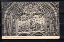 SALAMANCA.CATEDRAL NUEVA. DETALLE DE LA PUERTA PRINCIPAL ,  NO CIRCULADA. 1910 - Salamanca