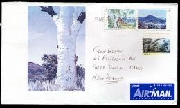 Australian Letter With Gum Tree Picture. - Australia