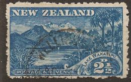 NZ 1898 2 1/2d Wakatipu P11 No Wmk SG 260 U #UG51 - 1855-1907 Colonie Britannique