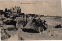 Noirmoutier La Plage De La Clère Et La Villa Jeanne D Arc - Noirmoutier