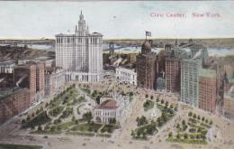 Old Postcard Civic Center New York United States - New York City