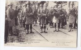 CPA 13 - MARSEILLE ? - La Musique De L'Infanterie Anglaise Des Indes - TB GROS PLAN Militaires - Regiments