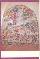 83.- LES ARCS  Chapelle Sainte Roseline  Mosaïque De  Marc Chagall - Les Arcs
