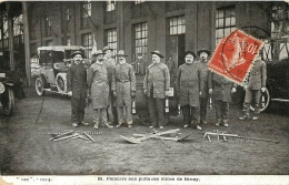 POINCARE AUX PUITS DES MINES DE BRUAY - Bergbau