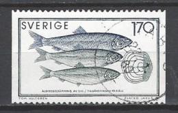 SCHWEDEN Mi-Nr. 1082 Meeresforschung Gestempelt - Suède