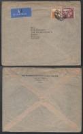PALESTINE - HAIFA - ISRAEL / 1946 LETTRE AVION POUR LA FRANCE (ref 3541) - Palestine