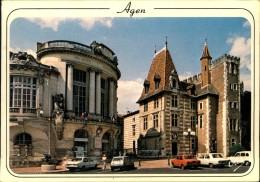 N°1683 PPP 381  CARTE GRAND FORMAT AGEN LE THEATRE ET LE MUSEE - Agen