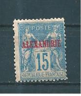 Colonie  Timbre D´Alexandrie  Type Sage  De 1899/1900  N°9  Neuf * - Alexandrie (1899-1931)