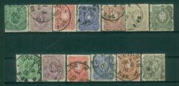 Reich Allemand Empire - Yvert 30-41 Obl. - Deutschland