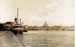 Port D'Helsinki Etelä Satama Helsingfors Södra Hamnen (a Voyagé Le 29/5/1937 Vers Jolimont Haine-Saint-Paul, Belgique) - Finlande