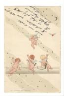 14465 - Chasse Aux Coeurs Anges Envoyée En 1900 - Autres